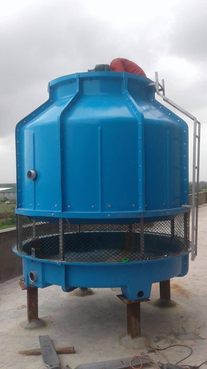 An image for Round-bottle-cooling-tower