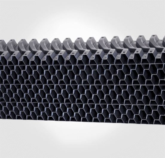 Key Structures of drift eliminators